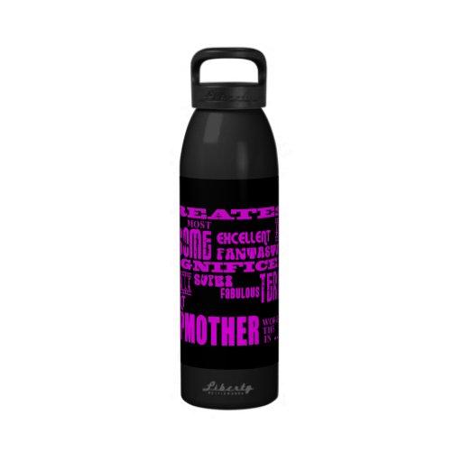 Madrastras modernas frescas de la diversión: La ma Botella De Agua Reutilizable