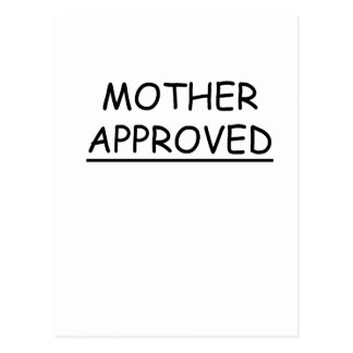 Madre aprobada postales