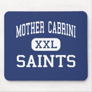 Madre Cabrini - santos - alto - Nueva York Nueva Y Tapete De Raton