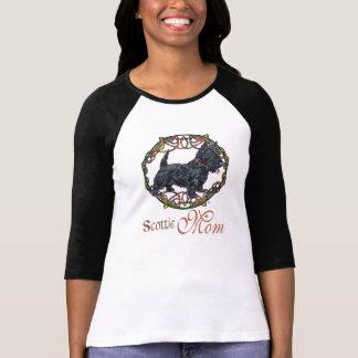 Madre céltica de Terrier del escocés T Shirt