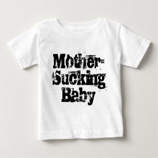 Madre-Chupar al bebé Playera