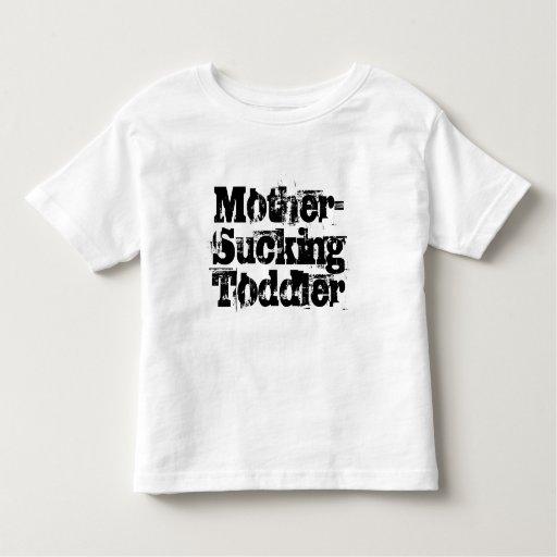 Madre-Chupar al niño Playera De Niño