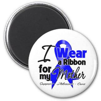 Madre - cinta del cáncer de colon imán redondo 5 cm