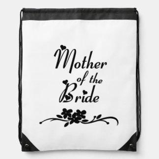 Madre clásica de la novia mochilas
