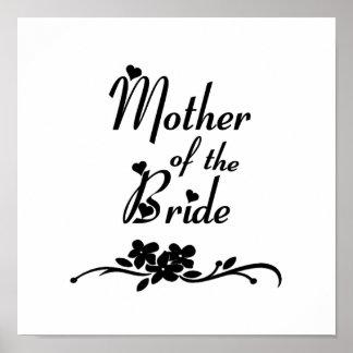 Madre clásica de la novia posters