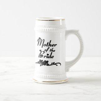 Madre clásica de la novia taza