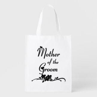 Madre clásica del novio bolsas de la compra