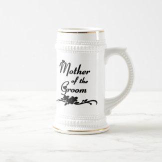 Madre clásica del novio tazas