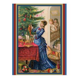 Madre comercial de la tarjeta del Victorian que Postal