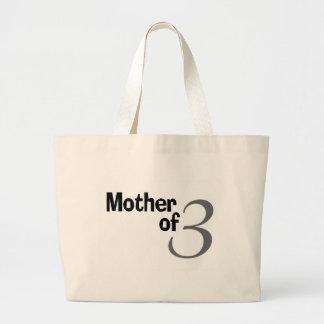 Madre de 3 bolsa tela grande