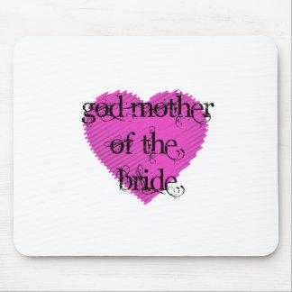 Madre de dios de la novia mouse pad