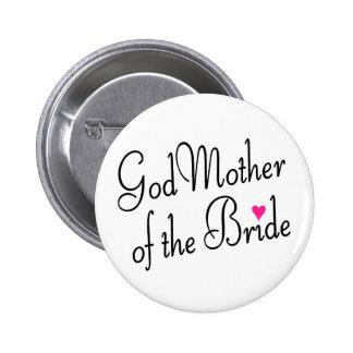 Madre de dios de la novia pins