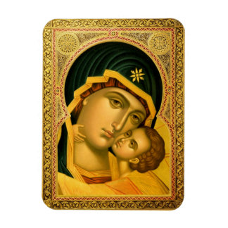 Madre de dios Glykophilousa -- Imán del icono