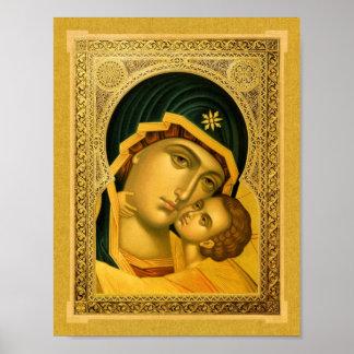 Madre de dios Glykophilousa - poster del icono