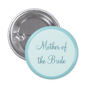 Madre de encargo del boda de los botones de Pinbac Pin