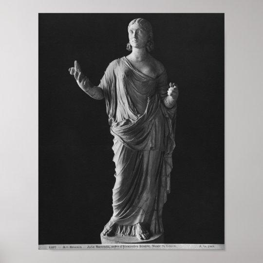 Madre de Julia Mamaea del emperador Severus Alexan Póster