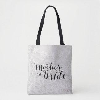 Madre de la bolsa de asas de la lona de la novia