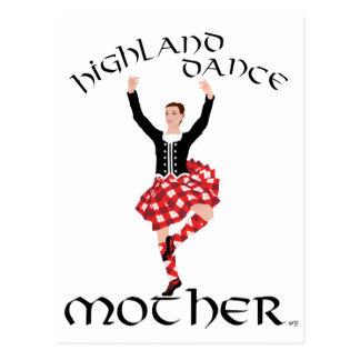 Madre de la danza de la montaña tarjeta postal