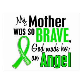 Madre de la distrofia muscular del ángel 1 tarjetas postales