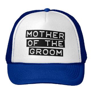 Madre de la etiqueta del novio gorra