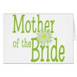 Madre de la margarita de la novia felicitaciones