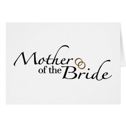 Madre de la novia 2 tarjeton