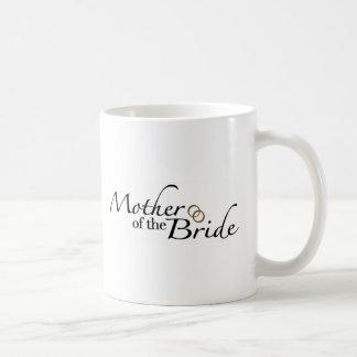 Madre de la novia 2 taza básica blanca