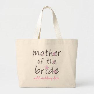 Madre de la novia bolsa tela grande