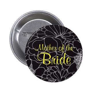 Madre de la novia - botón pin