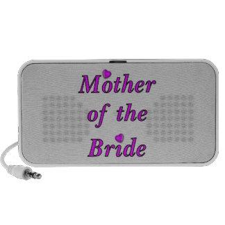 Madre de la novia del amor simplemente altavoces de viaje