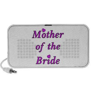 Madre de la novia del amor simplemente notebook altavoz