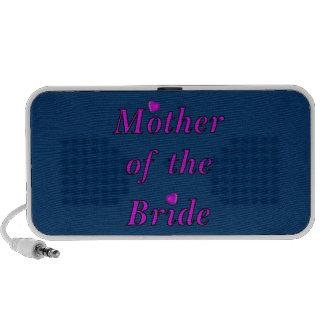 Madre de la novia del amor simplemente laptop altavoz