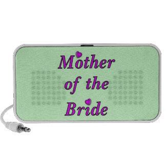Madre de la novia del amor simplemente iPod altavoz