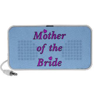Madre de la novia del amor simplemente notebook altavoces