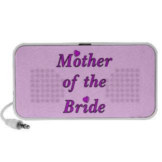 Madre de la novia del amor simplemente portátil altavoces