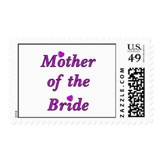 Madre de la novia del amor simplemente sello