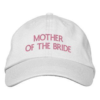 Madre de la novia gorra de béisbol bordada