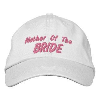 Madre de la novia gorro bordado