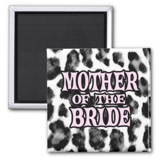 Madre de la novia imán de frigorífico