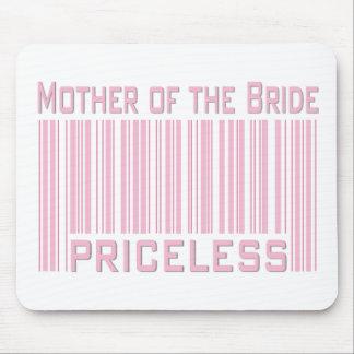 Madre de la novia inestimable tapetes de ratones