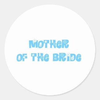 Madre de la novia etiquetas