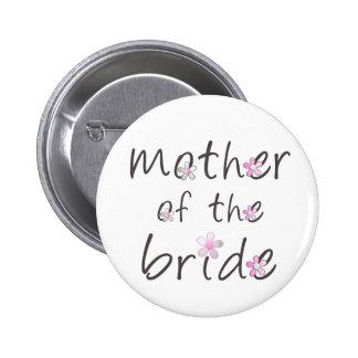 Madre de la novia pin redondo 5 cm