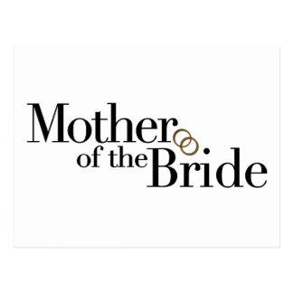 Madre de la novia postal