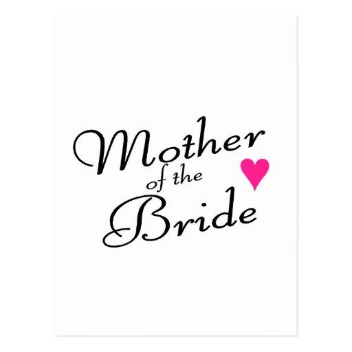 Madre de la novia postales