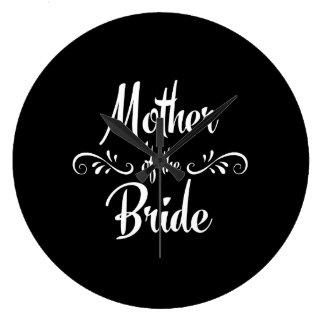 Madre de la novia reloj redondo grande