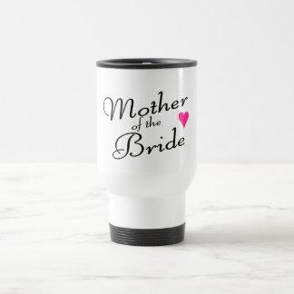 Madre de la novia taza de viaje de acero inoxidable