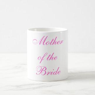 Madre de la novia taza clásica