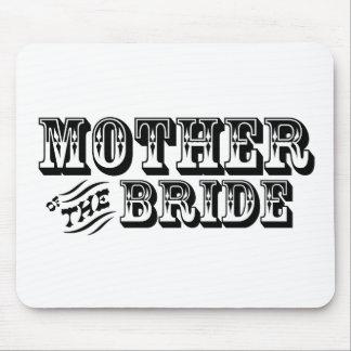 Madre de la novia - viejo oeste alfombrillas de ratón