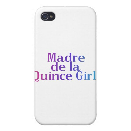 Madre De la Quince Girl iPhone 4/4S Funda