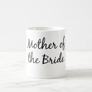 Madre de la taza de la novia